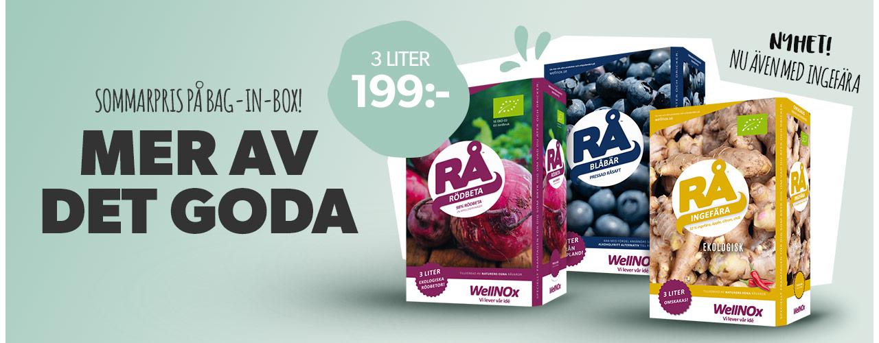 Rå Bag-in-box för 199kr