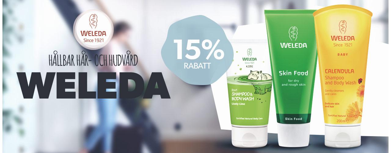 Weleda -15%