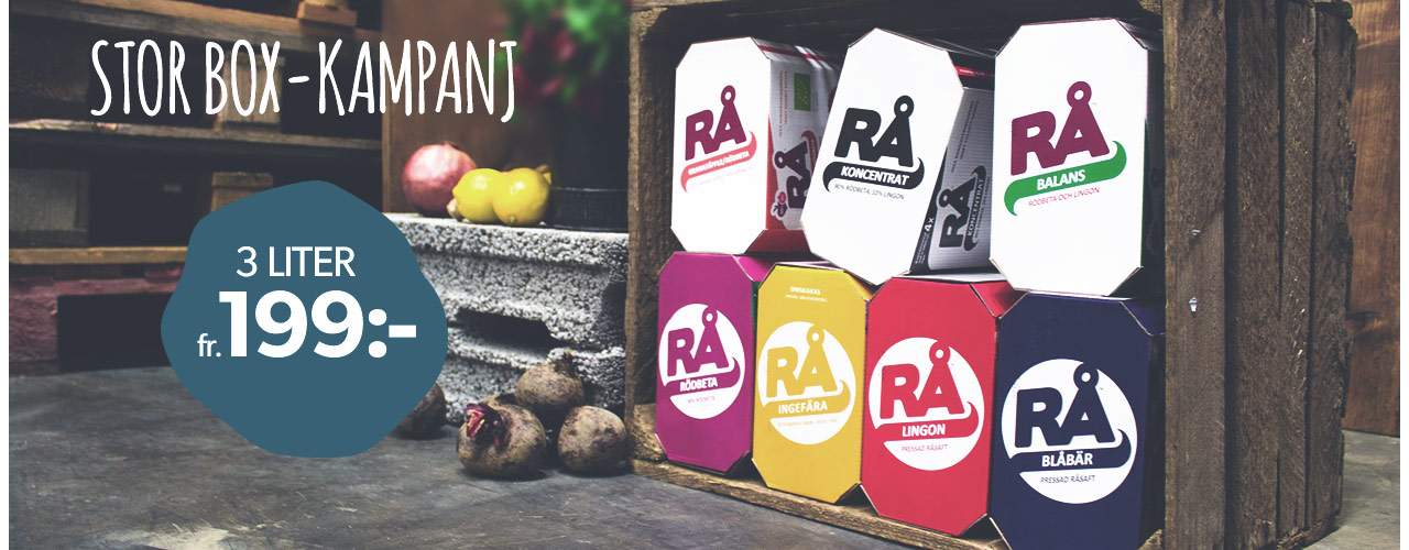 Rå Bag-in-box-veckor