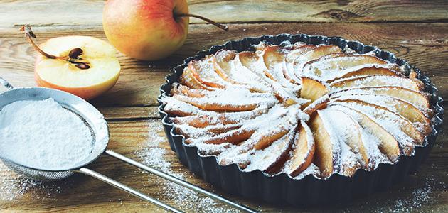 Höstig äpplekaka